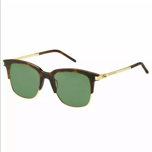 Marc Jacobs Sunglasses Havana and green frame